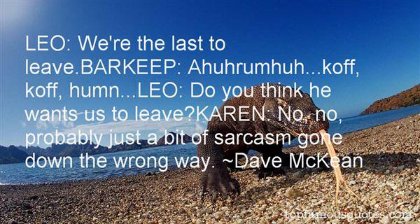 Dave McKean Quotes