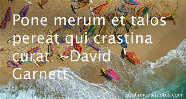 David Garnett Quotes
