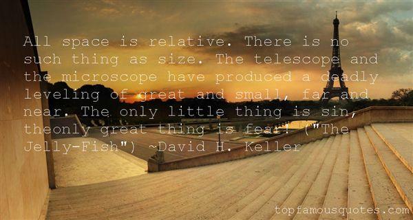David H. Keller Quotes