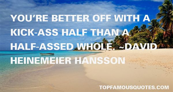 David Heinemeier Hansson Quotes