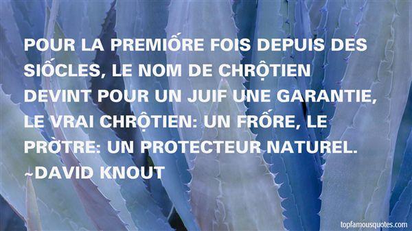 David Knout Quotes