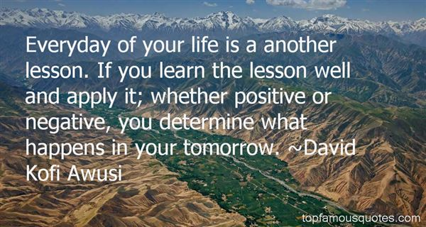 David Kofi Awusi Quotes