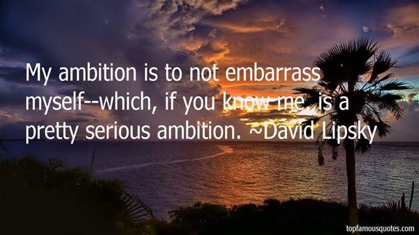 David Lipsky Quotes