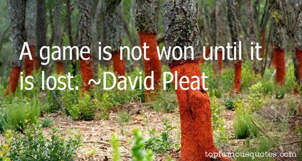 David Pleat Quotes