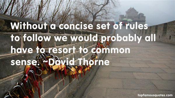 David Thorne Quotes