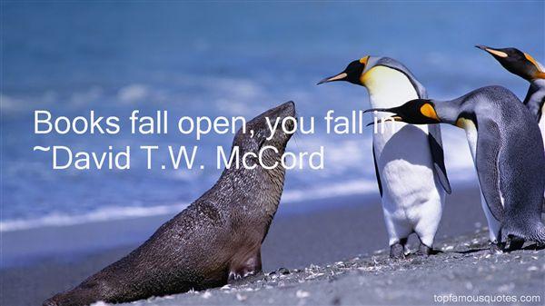 David T.W. McCord Quotes