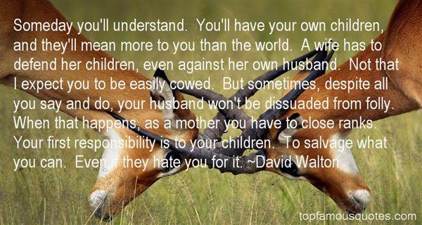 David Walton Quotes