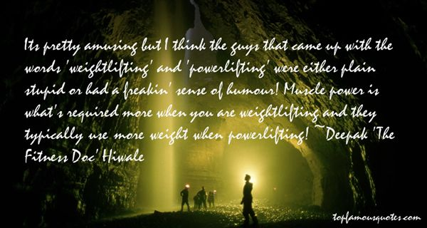 Deepak 'The Fitness Doc' Hiwale Quotes