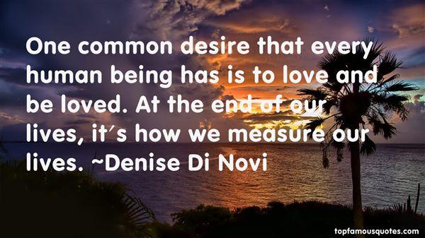 Denise Di Novi Quotes
