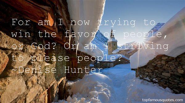 Denise Hunter Quotes