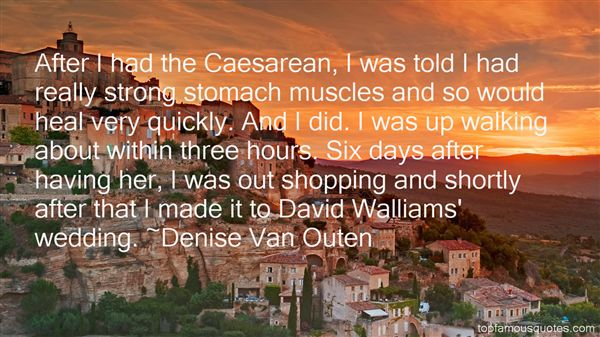 Denise Van Outen Quotes