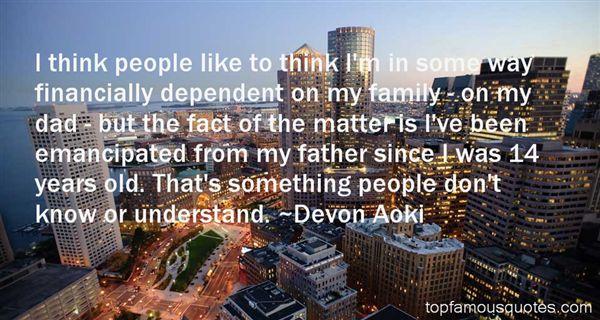 Devon Aoki Quotes