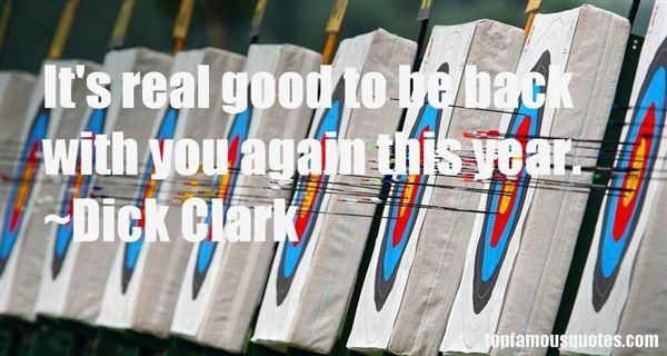 Dick Clark Quotes