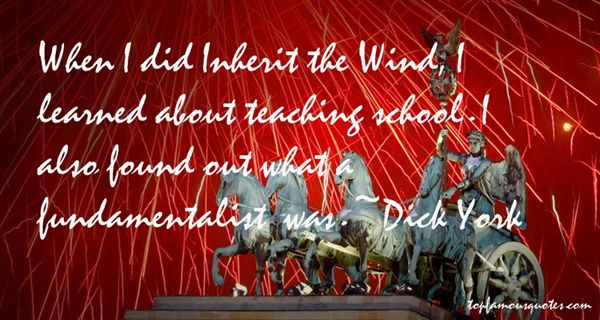Dick York Quotes