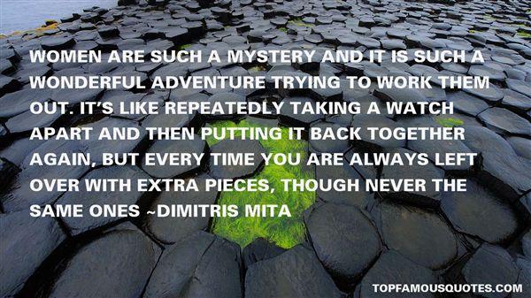 Dimitris Mita Quotes