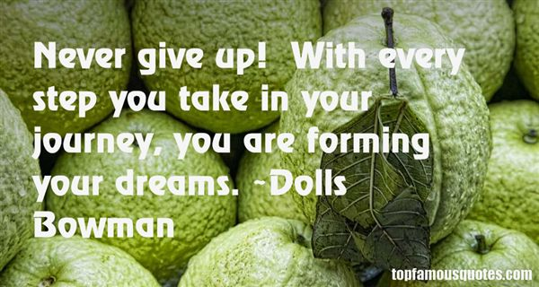 Dolls Bowman Quotes