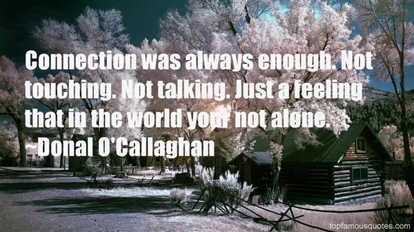 Donal O'Callaghan Quotes