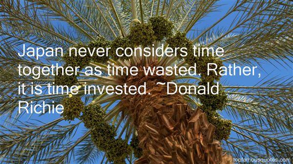 Donald Richie Quotes