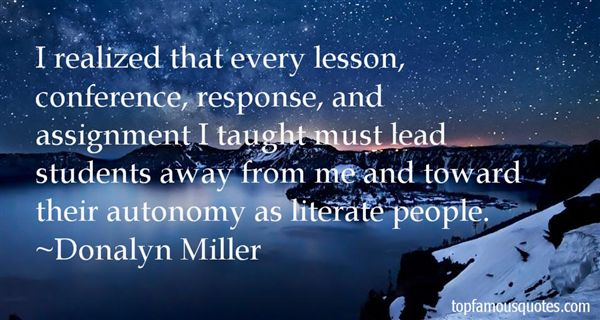 Donalyn Miller Quotes