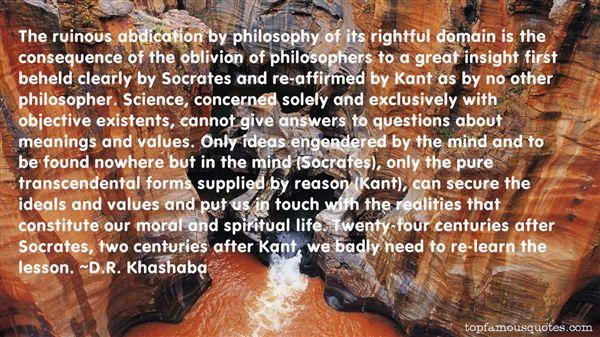 D.R. Khashaba Quotes