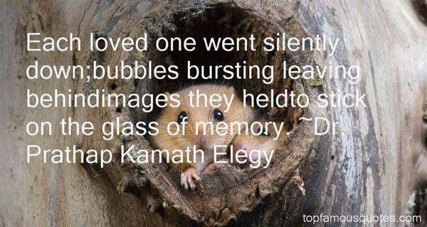 Dr. Prathap Kamath Elegy Quotes