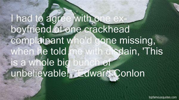 Edward Conlon Quotes