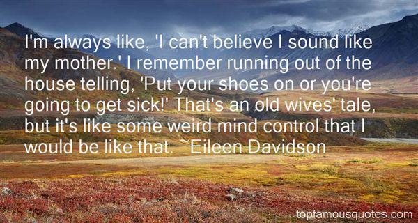 Eileen Davidson Quotes