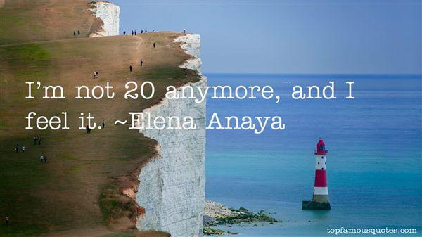 Elena Anaya Quotes