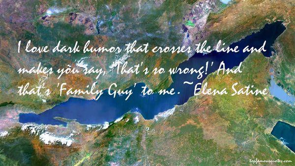 Elena Satine Quotes