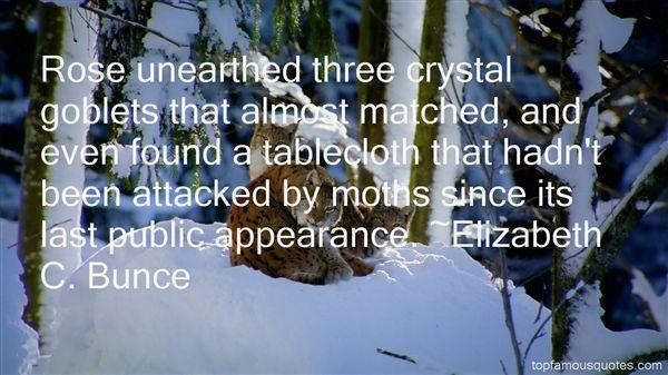 Elizabeth C. Bunce Quotes