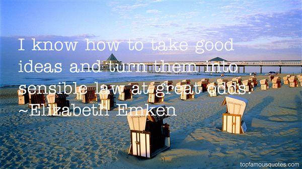 Elizabeth Emken Quotes