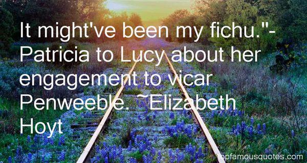 Elizabeth Hoyt Quotes