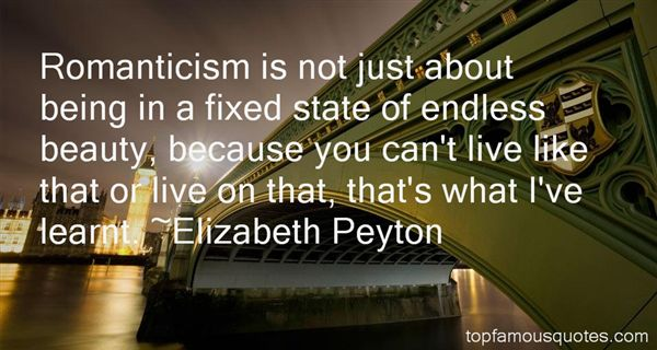 Elizabeth Peyton Quotes
