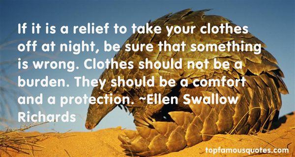 Ellen Swallow Richards Quotes