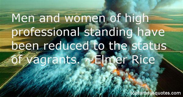 Elmer Rice Quotes