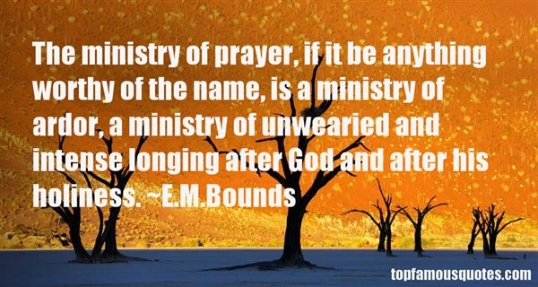 E.M.Bounds Quotes