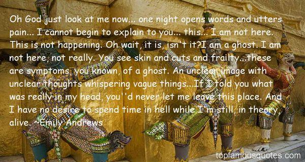 Emily Andrews Quotes
