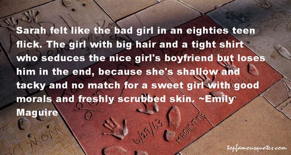Emily Maguire Quotes
