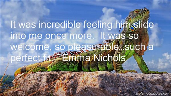 Emma Nichols Quotes
