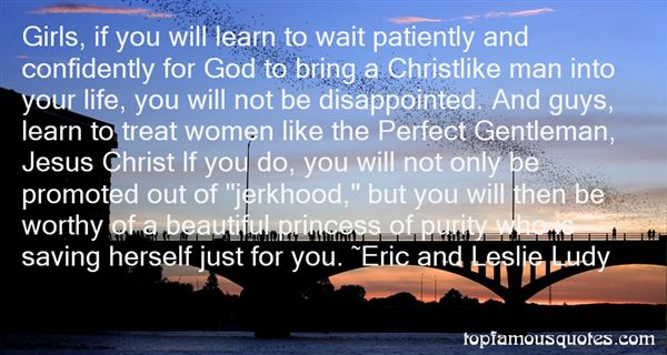 Eric And Leslie Ludy Quotes