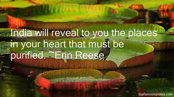 Erin Reese Quotes