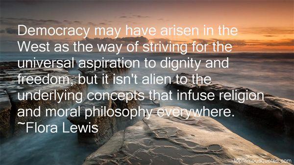Flora Lewis Quotes
