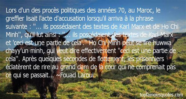 Fouad Laroui Quotes