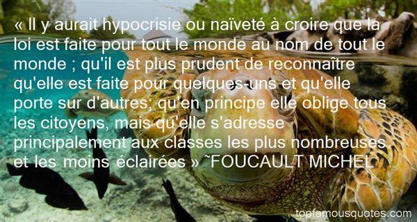 FOUCAULT MICHEL Quotes