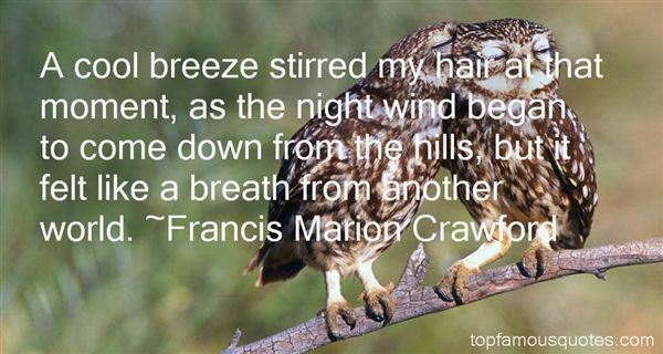 Francis Marion Crawford Quotes