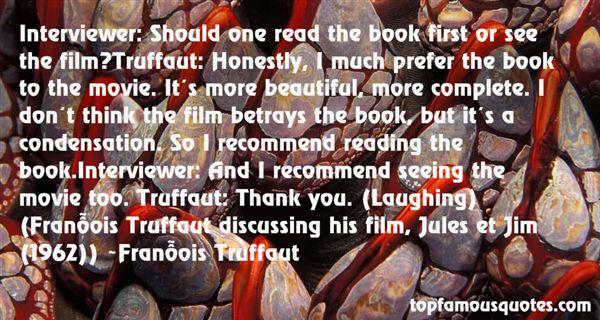 François Truffaut Quotes