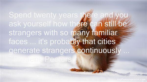 Frederik Peeters Quotes