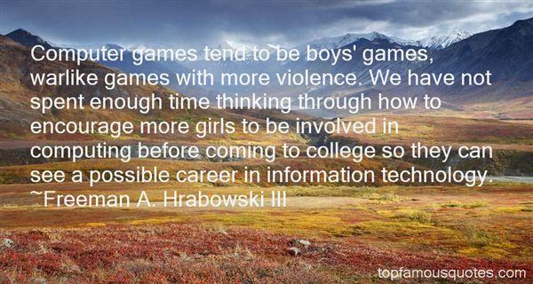 Freeman A. Hrabowski III Quotes