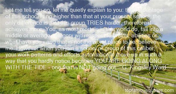 G. Kingsley Ward Quotes