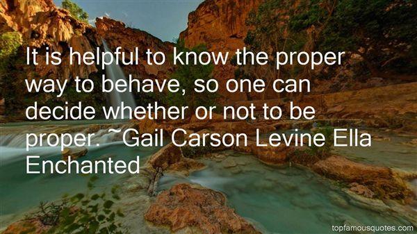 Gail Carson Levine Ella Enchanted Quotes